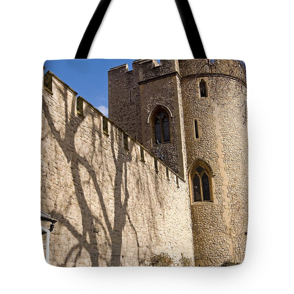 Europe Tote Bag featuring the photograph Salt Tower by Mary Lane