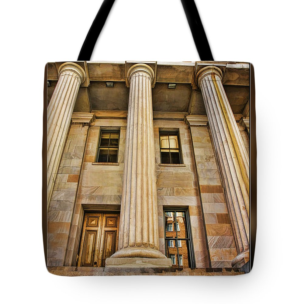 Art Photography Tote Bag featuring the photograph San Francisco Mint Building by Blake Richards