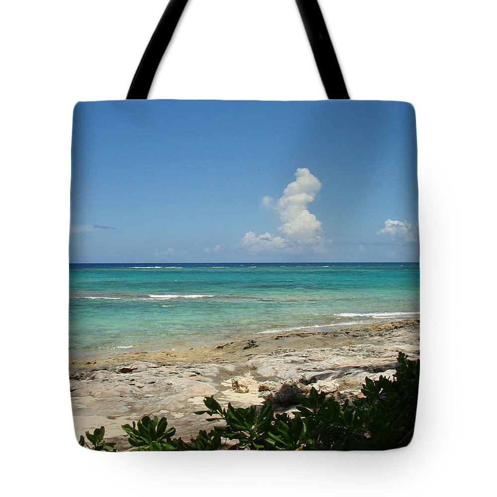 Cay Tote Bag featuring the photograph Sandals Cay by Kimberly Perry