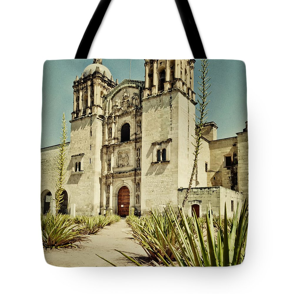 Buildings / Land Tote Bag featuring the photograph Santo Domingo by Javier Barras