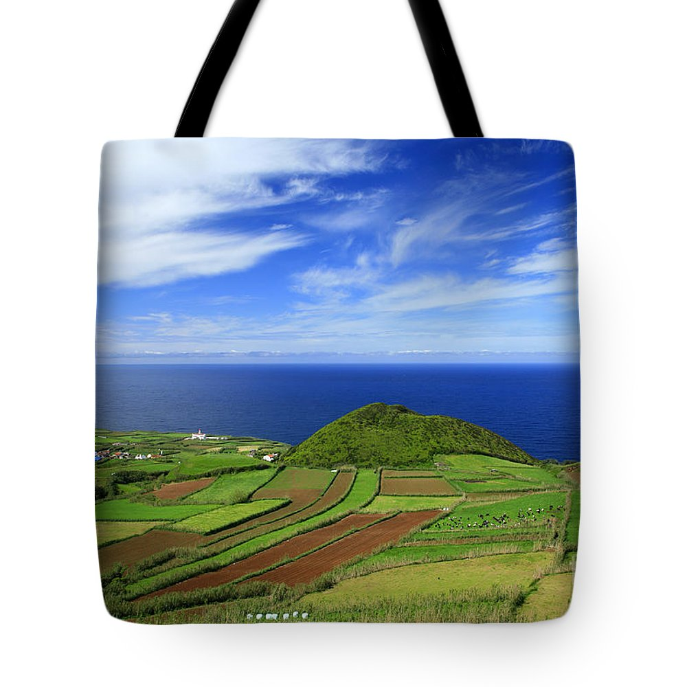 Landscape Tote Bag featuring the photograph Sao Miguel - Azores Islands by Gaspar Avila