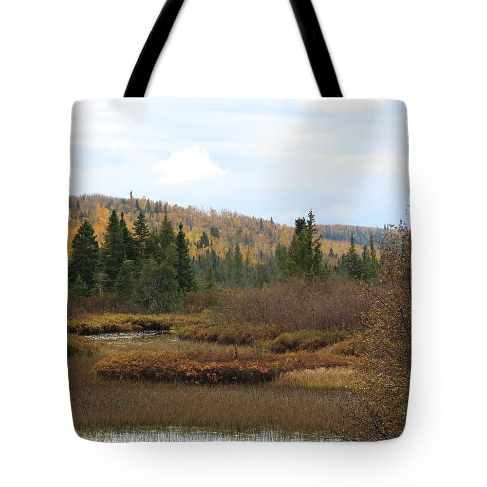 Tote Bag featuring the photograph Sawtooth Swamp by Joi Electa