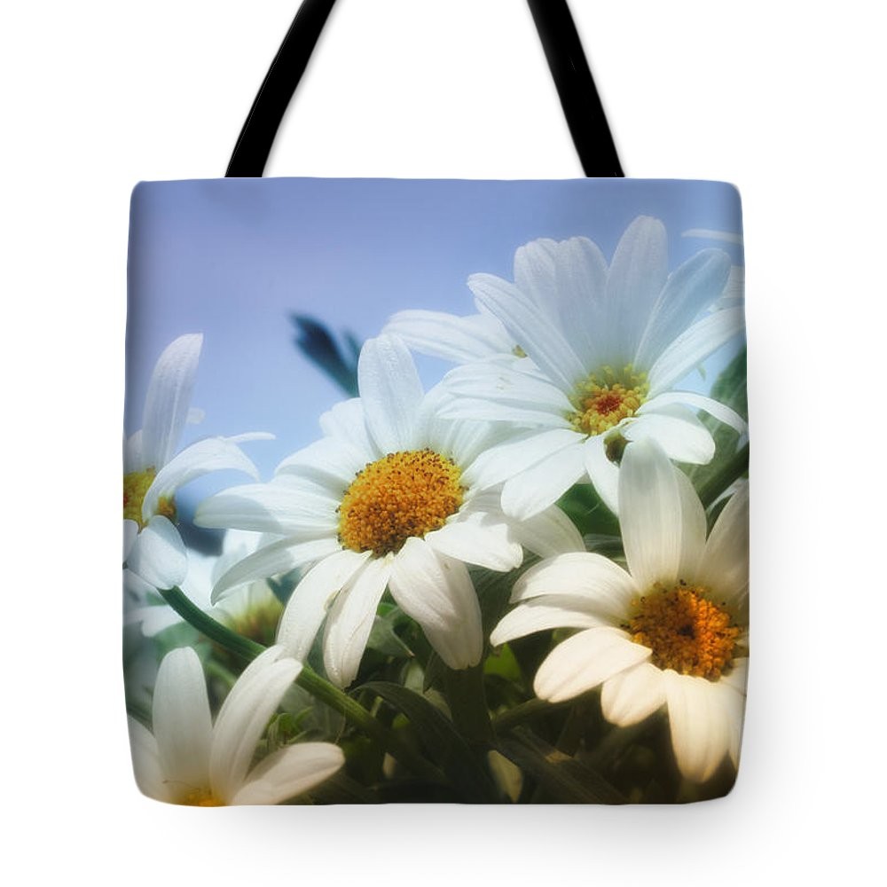 Photo Tote Bag featuring the photograph Say It With Flowers by Jutta Maria Pusl