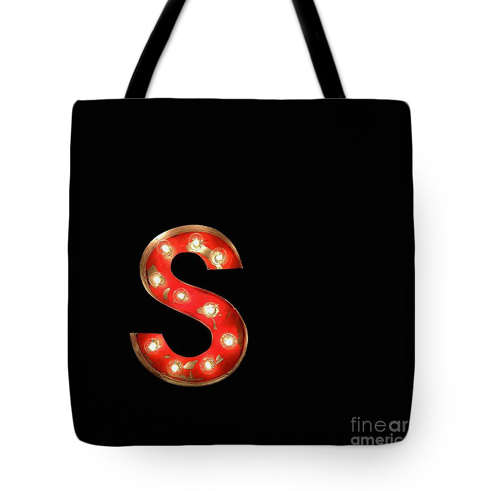 Red Tote Bag featuring the photograph Scarlet Letter by Glennis Siverson