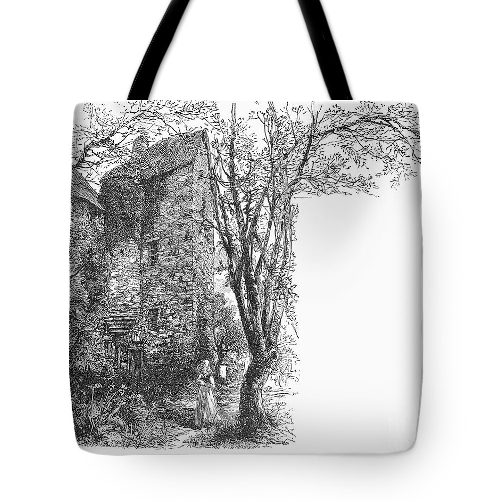 1566 Tote Bag featuring the photograph Scotland: Jedburgh House by Granger