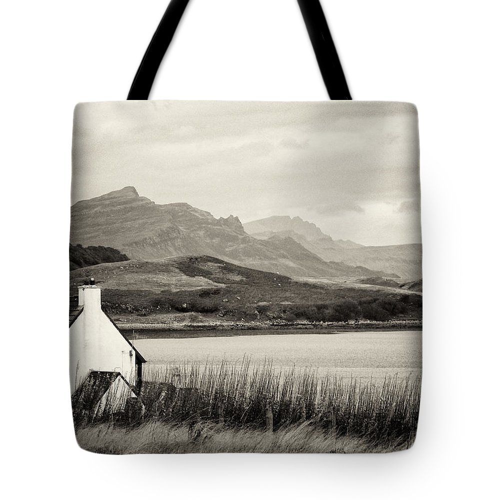 Landscape Tote Bag featuring the photograph Scottish Scene by David Resnikoff
