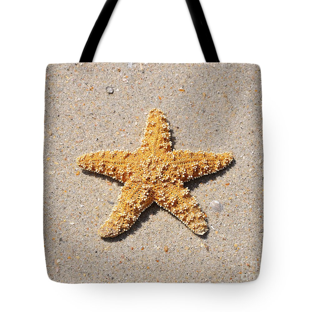 Sea Star Tote Bag featuring the photograph Sea Star by Al Powell Photography USA