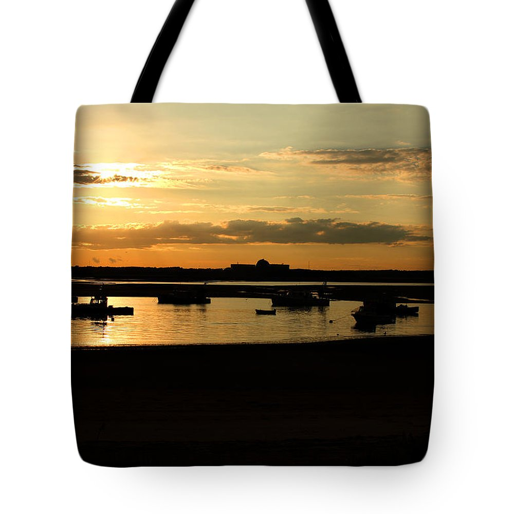 Landscape Tote Bag featuring the photograph Seabrook At Sunset 1a by Robert Morin