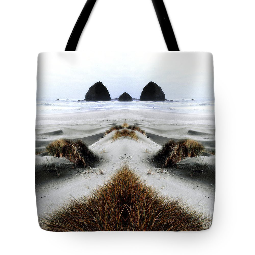 Contest Entry Tote Bag featuring the photograph Seascape 2 by Mike Nellums