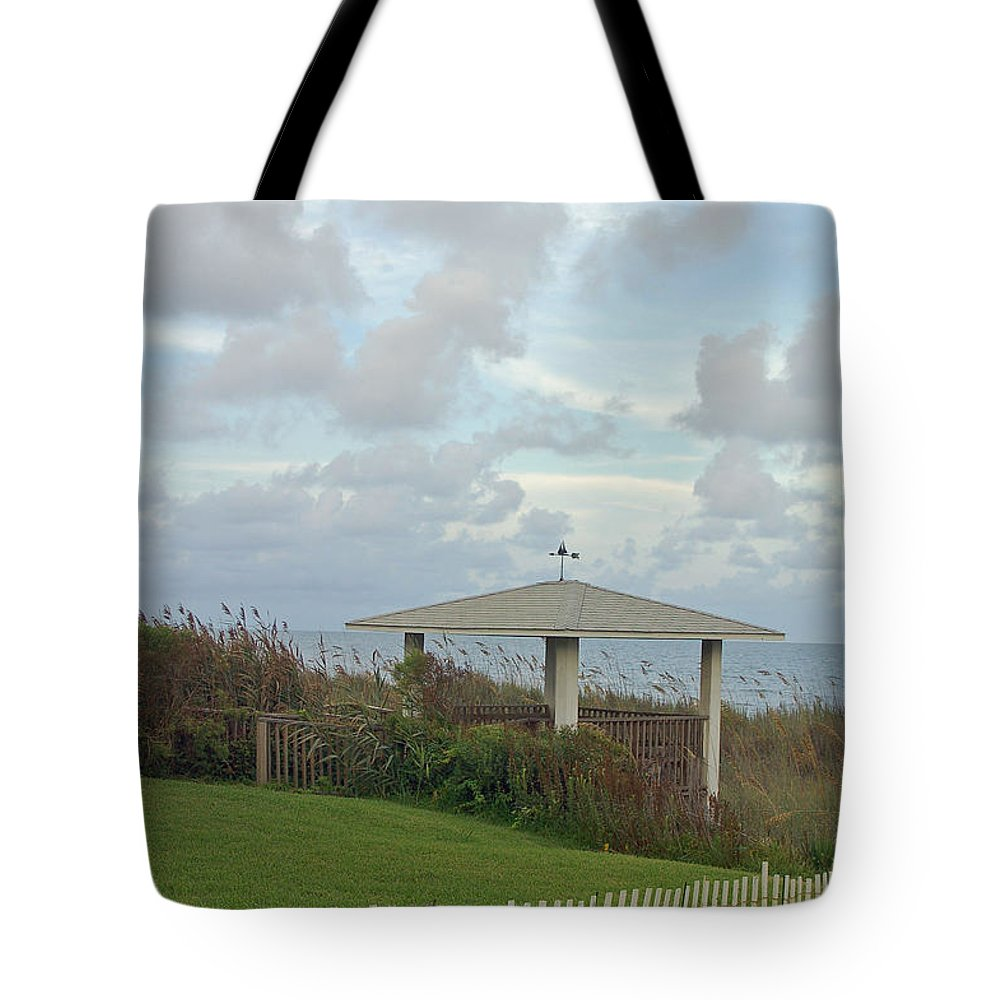 Seaside Tote Bag featuring the photograph Seaside Sanctuary by Suzanne Gaff