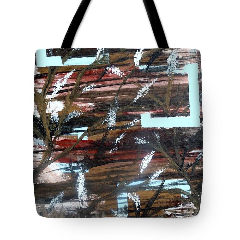 Garden Tote Bag featuring the painting Secret Garden by Steve Cochran