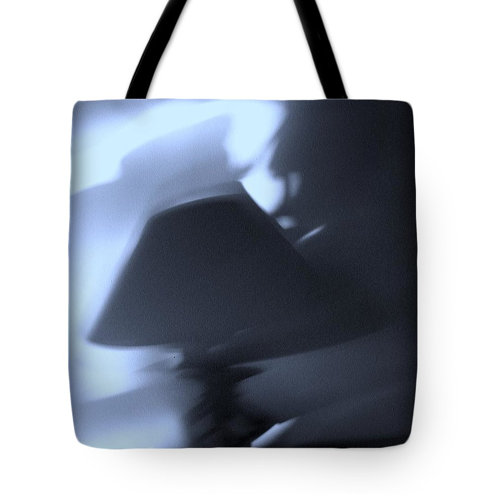 Shadow Tote Bag featuring the photograph Shadow by T Campbell