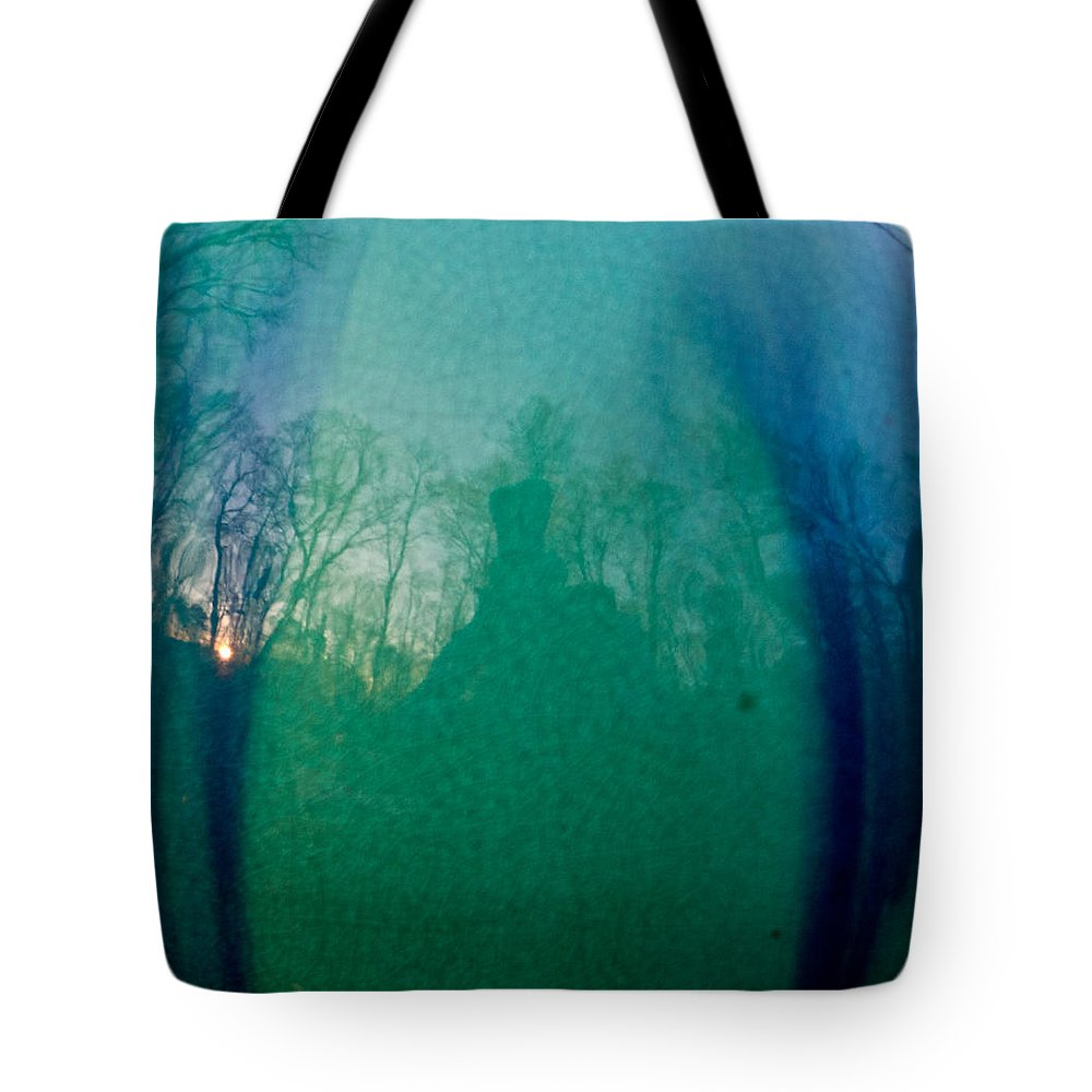Sunset Tote Bag featuring the photograph Shadows In The Eye Of The Sunset by Douglas Barnett