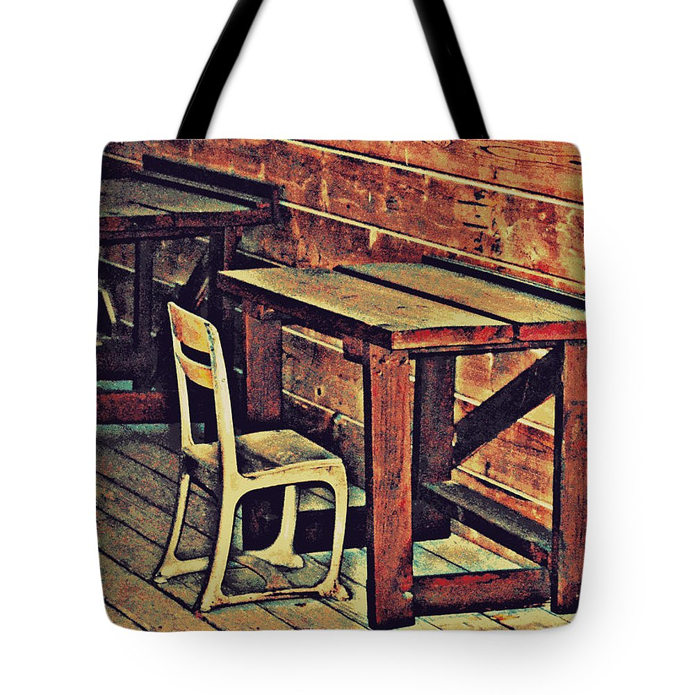 Old West Tote Bag featuring the photograph Sharpen Your Pencils by Diane montana Jansson