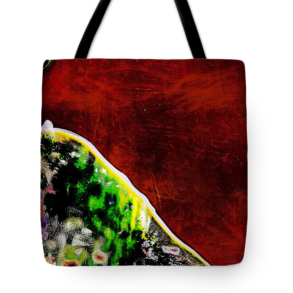 Andy Warhol Tote Bag featuring the photograph She Walked Toward The Sunset by Doug Duffey