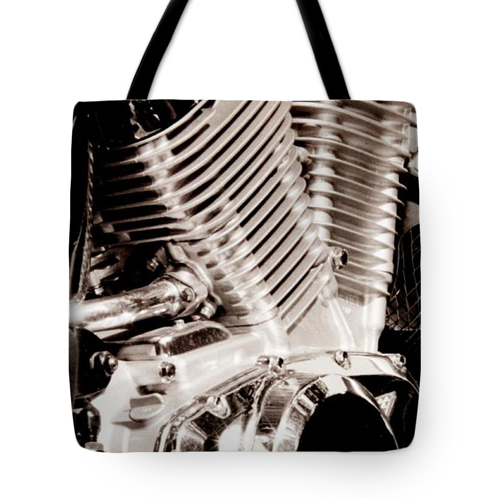 Shine Tote Bag featuring the photograph Shine by T Campbell