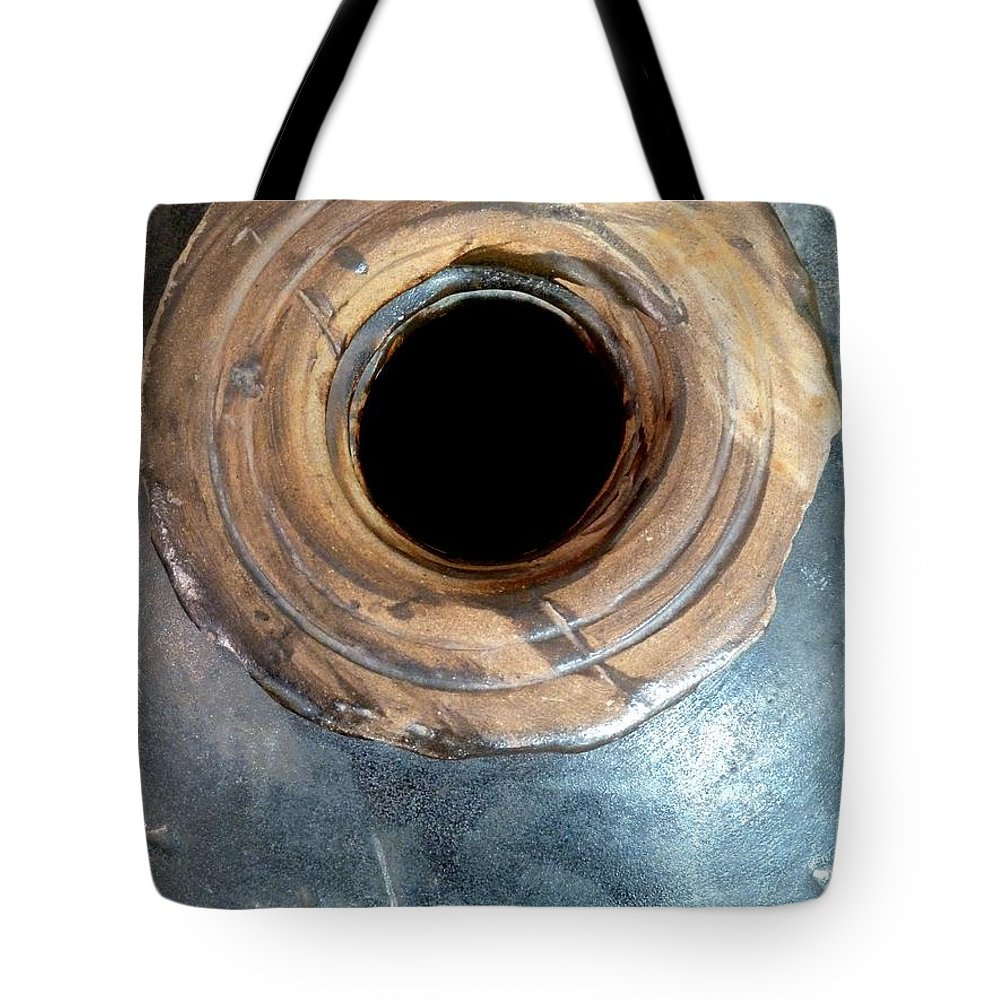 Pottery Tote Bag featuring the photograph Silent Song by Newel Hunter