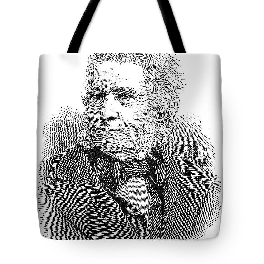 19th Century Tote Bag featuring the photograph Sir Charles E. Trevelyan by Granger