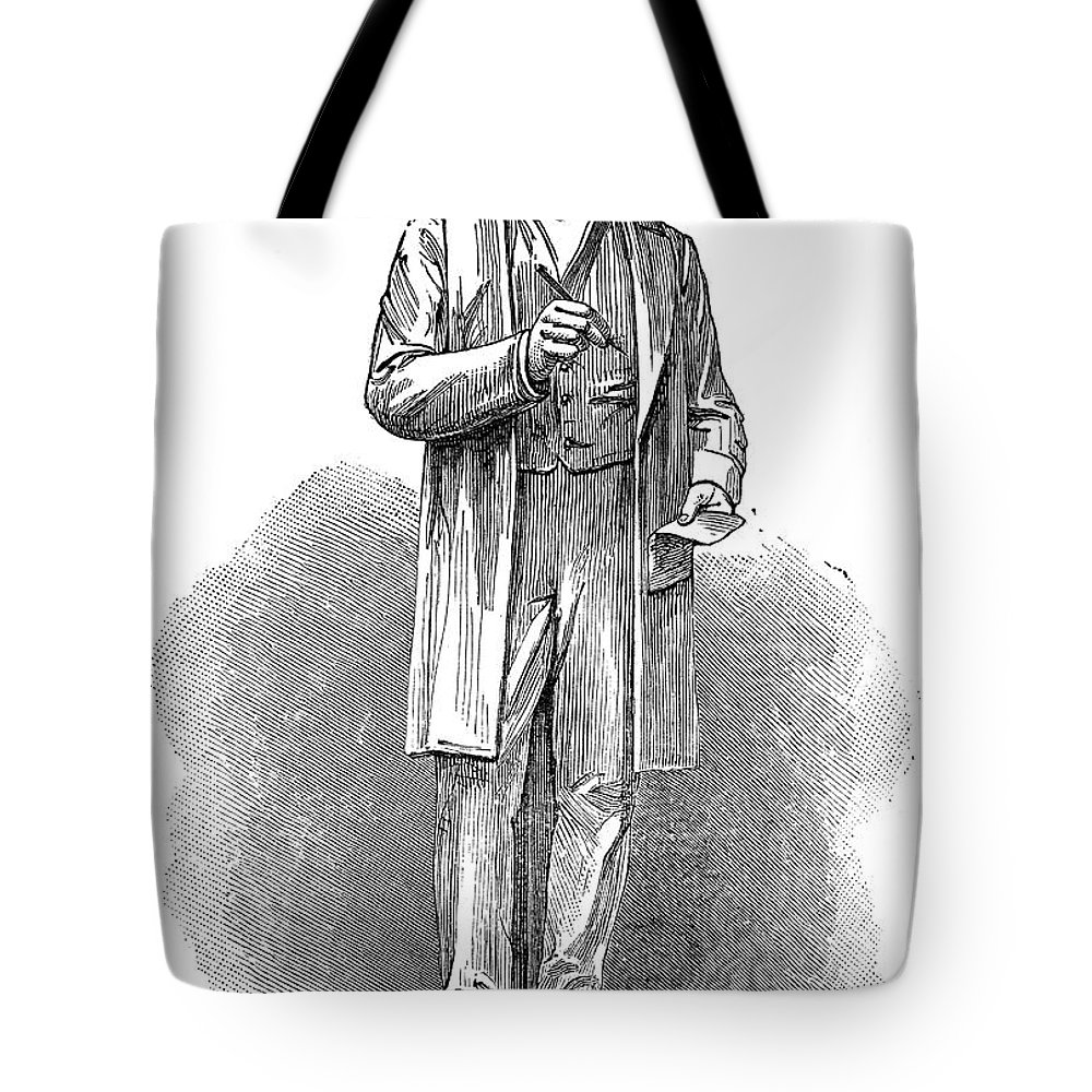 19th Century Tote Bag featuring the photograph Sir Rowland Hill (1795-1879) by Granger