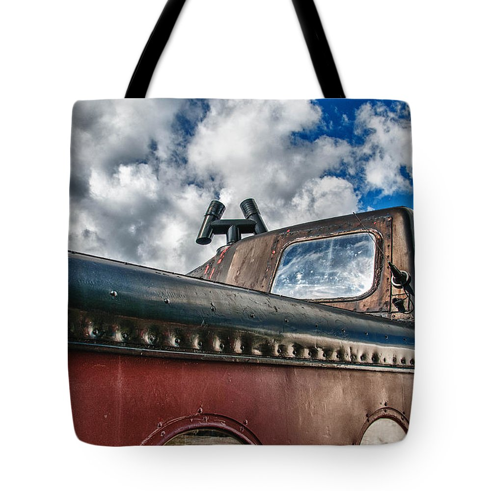 Guy Whiteley Photography Tote Bag featuring the photograph Skylight by Guy Whiteley