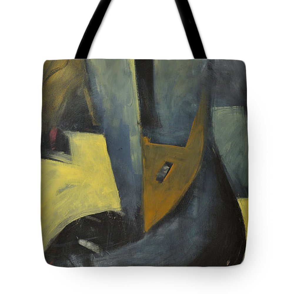 Sailor Tote Bag featuring the painting Slicker by Tim Nyberg