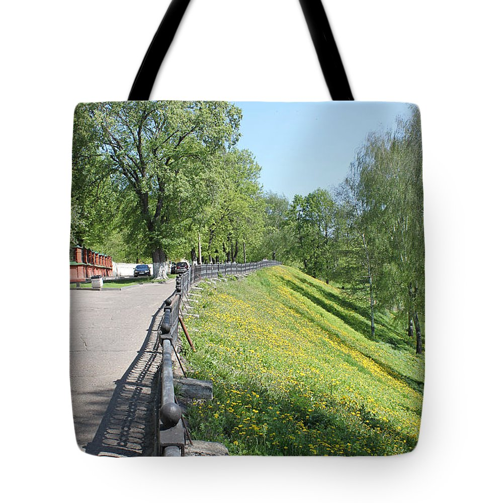 Nature Tote Bag featuring the photograph Slope by Evgeny Pisarev