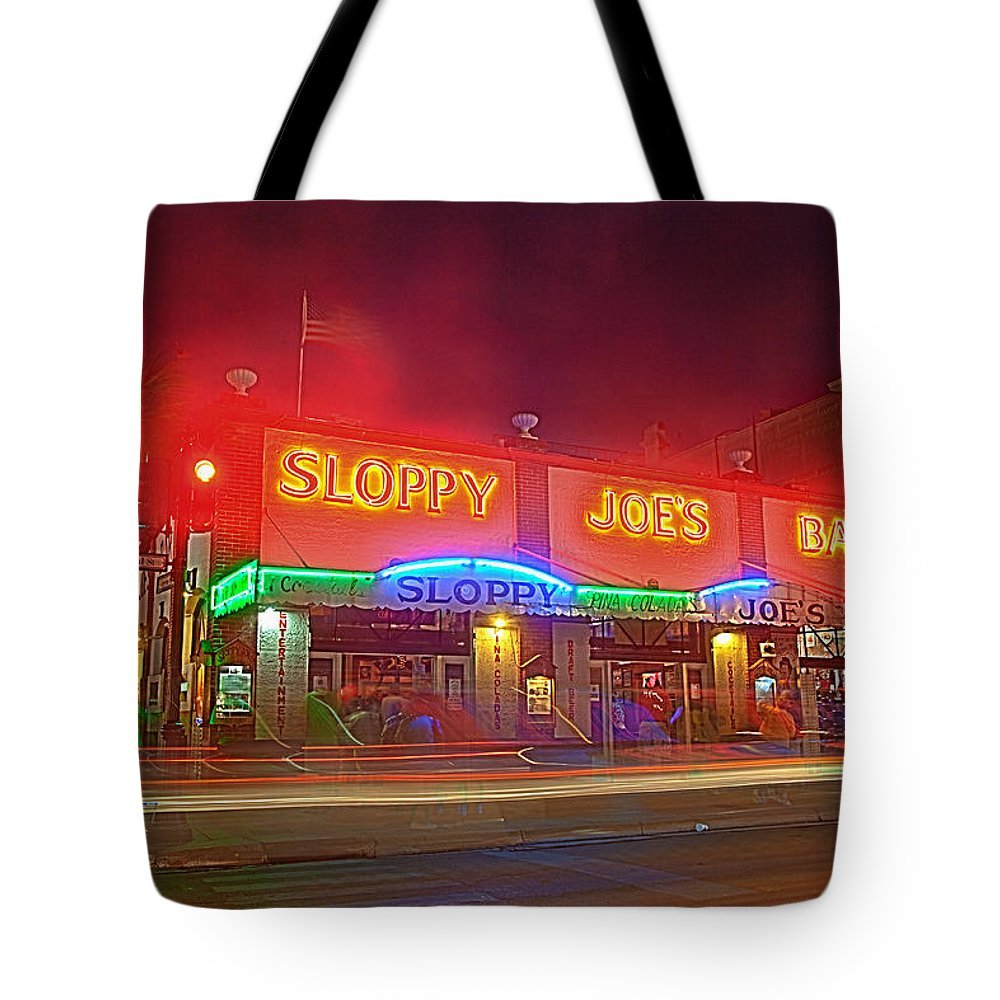 Key Tote Bag featuring the photograph Sloppy Joes by Scott Meyer