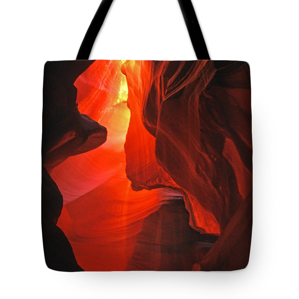 Slots Tote Bag featuring the photograph Slot Canyons - 502 by Paul W Faust - Impressions of Light