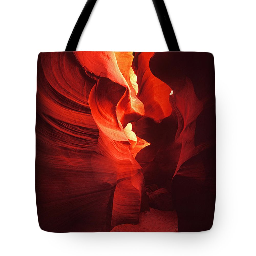 Slots Tote Bag featuring the photograph Slots On Fire by Paul W Faust - Impressions of Light