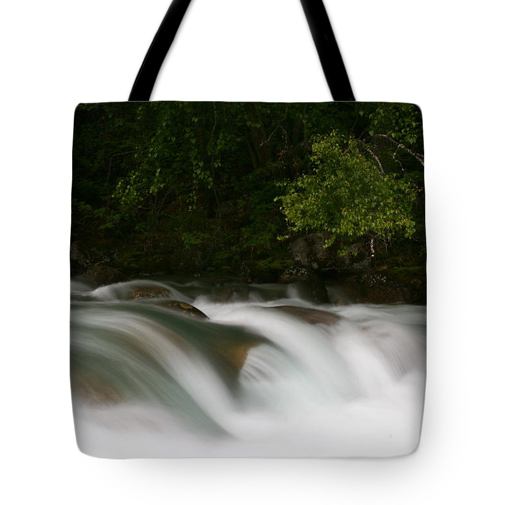 Doug Lloyd Tote Bag featuring the photograph Smooth Water by Doug Lloyd