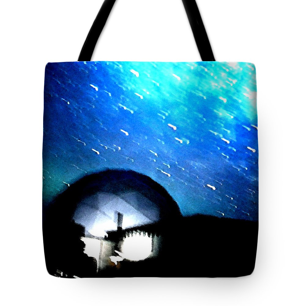 Colette Tote Bag featuring the photograph Snow Arrives by Colette V Hera Guggenheim
