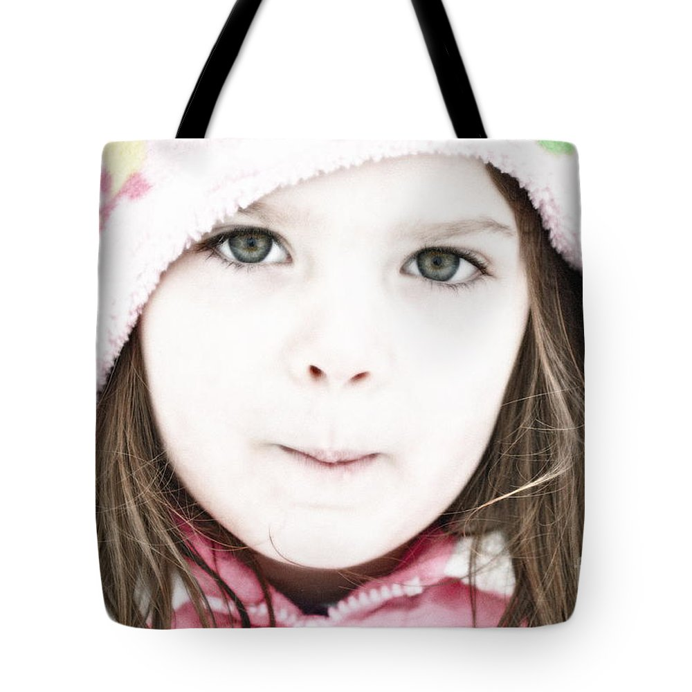 Snow Tote Bag featuring the photograph Snowy Innocence by Gwyn Newcombe