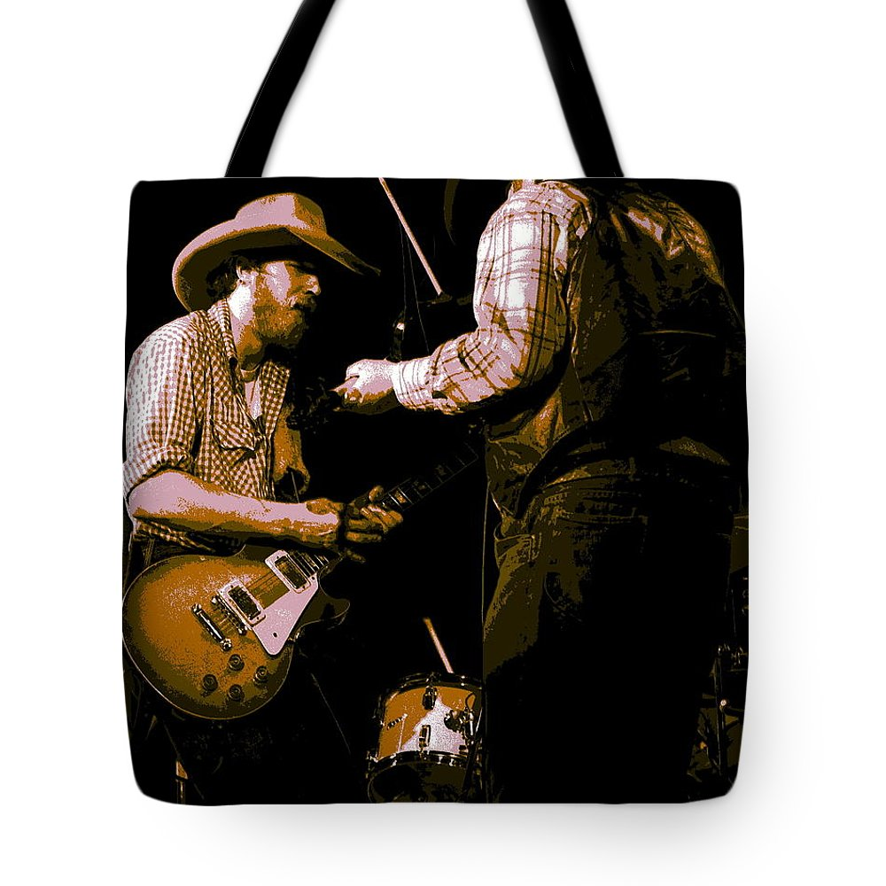 Tommy Crain Tote Bag featuring the photograph Southern Jam By The Cdb by Ben Upham