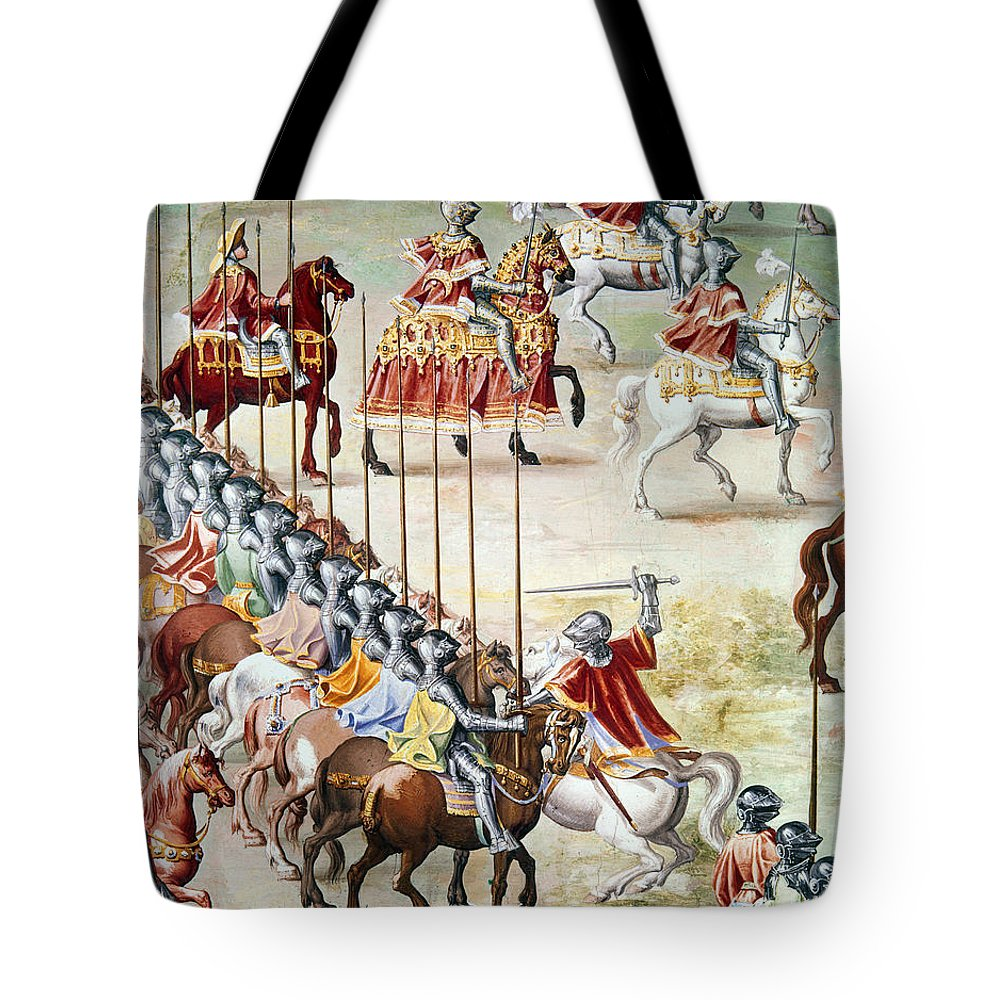 1431 Tote Bag featuring the photograph Spain: Higueruela, 1431 by Granger