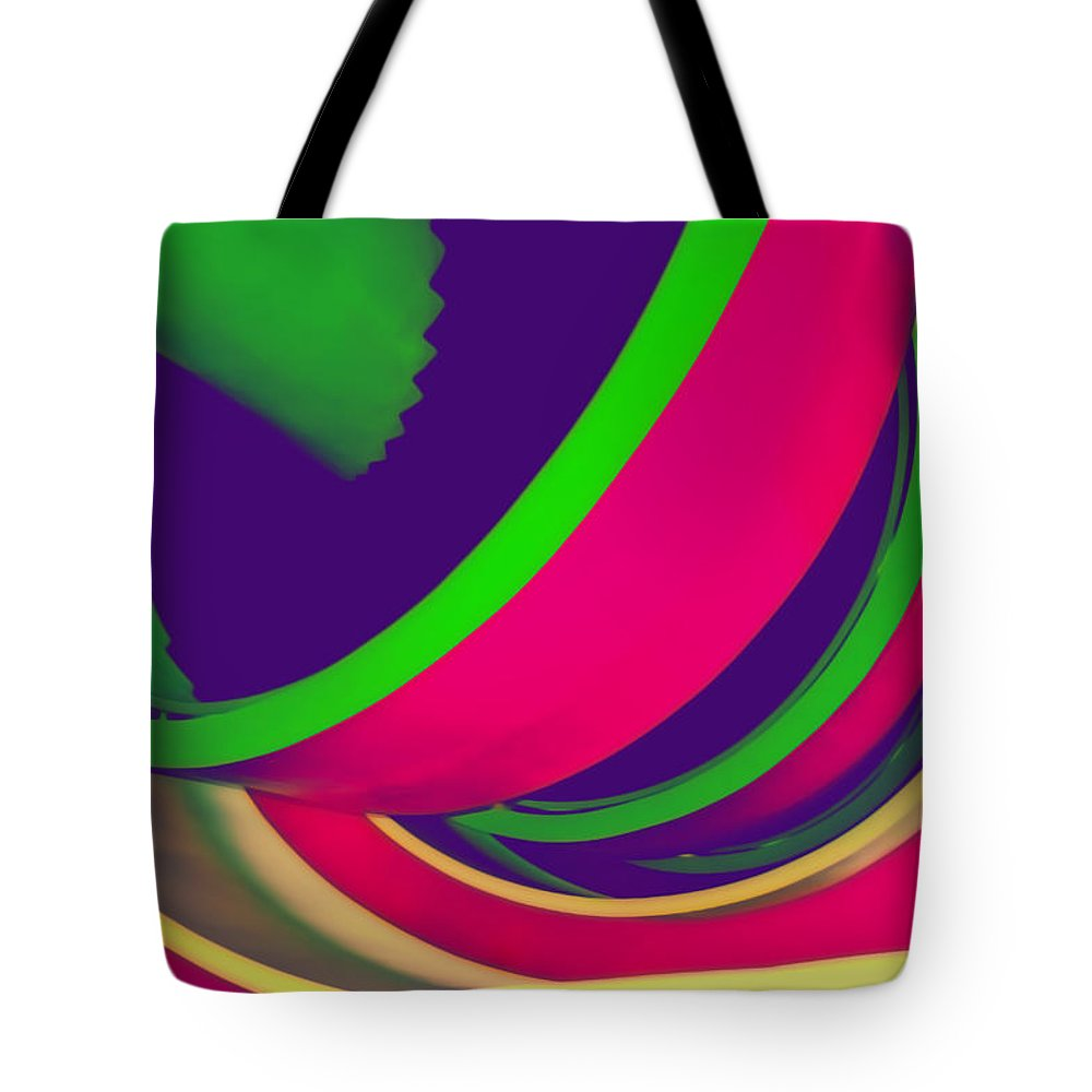 Photography Tote Bag featuring the photograph Spin by Peter Benkmann