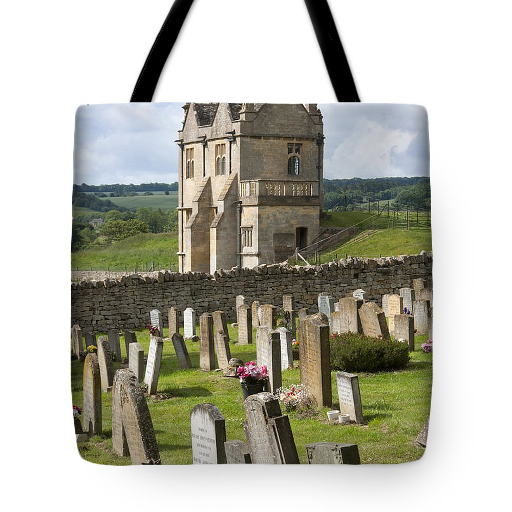 2011 Tote Bag featuring the photograph St James Church Graveyard by Andrew Michael