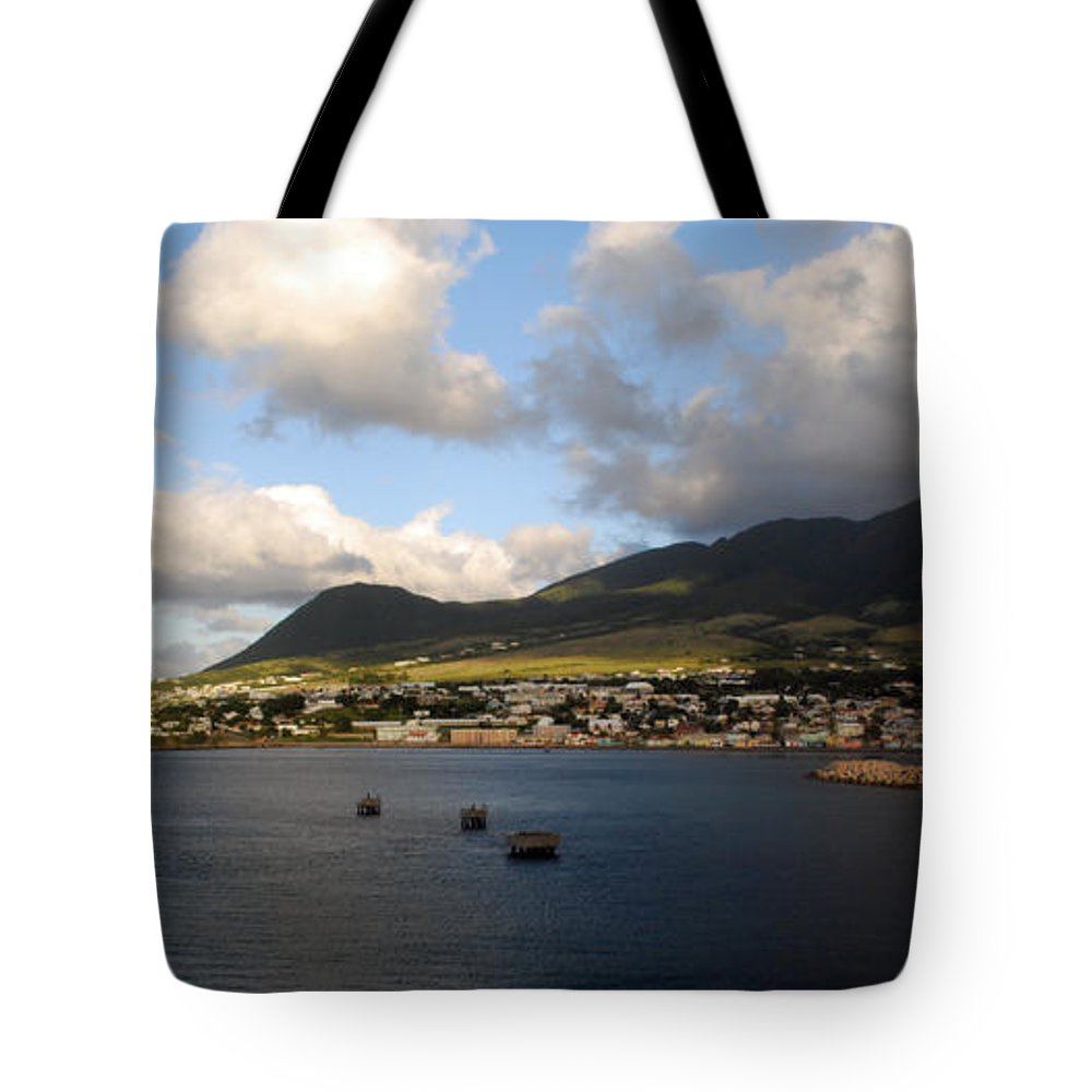 St. Kitts Tote Bag featuring the photograph St. Kitts by Gary Wonning