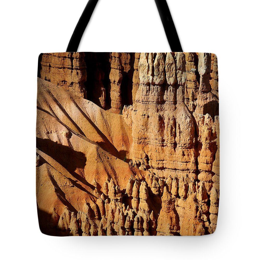Bryce Canyon Tote Bag featuring the photograph Stand Tall by Vicki Pelham