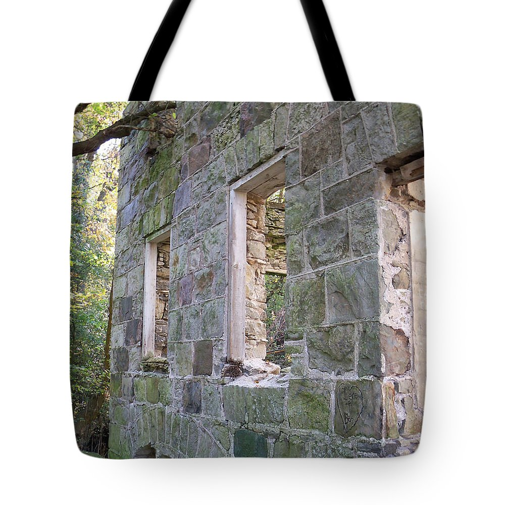 Building Tote Bag featuring the photograph Standing Strong by Corinne Elizabeth Cowherd