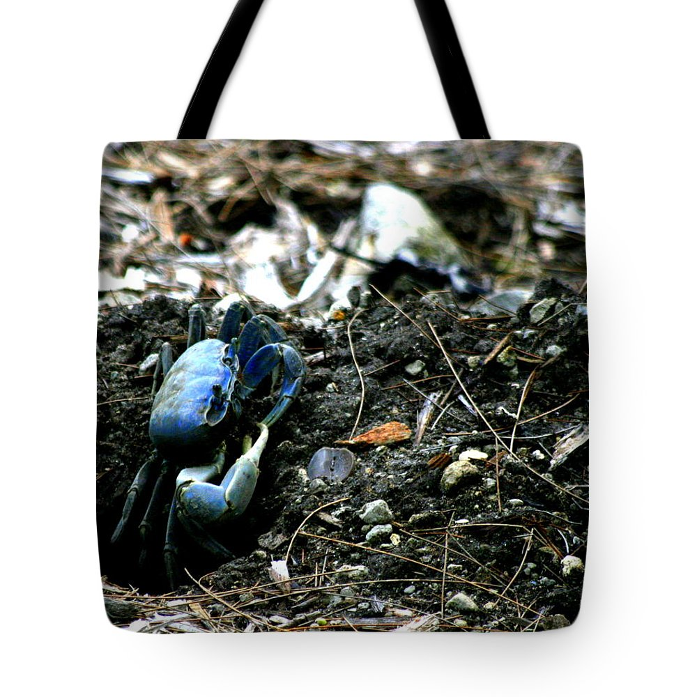 Blue Tote Bag featuring the photograph Standing Vigil by Jacob Klaus