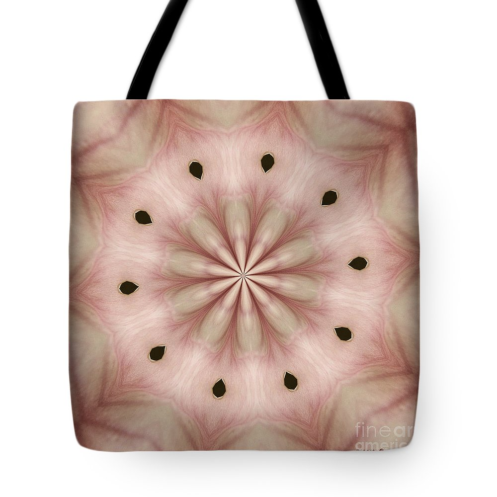 Photograph Tote Bag featuring the photograph Star Magnolia Medallion 5 by Susan Smith