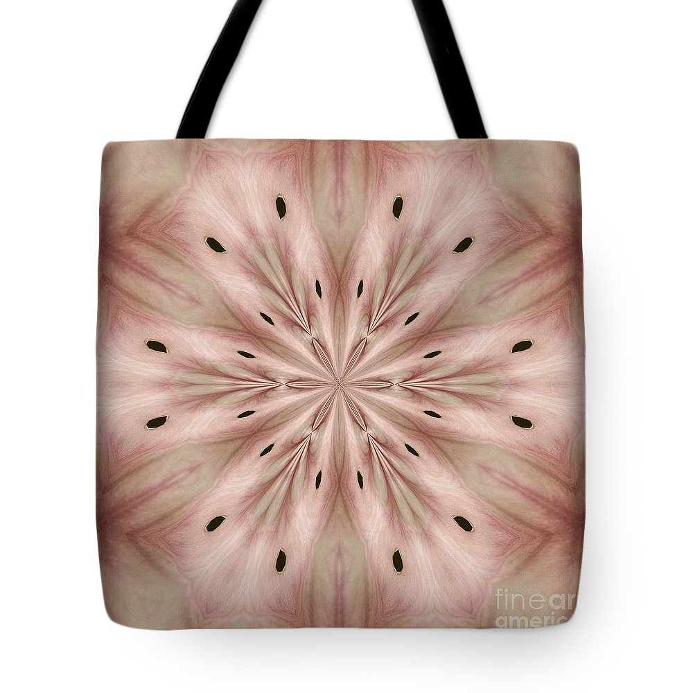 Photograph Tote Bag featuring the photograph Star Magnolia Medallion 6 by Susan Smith