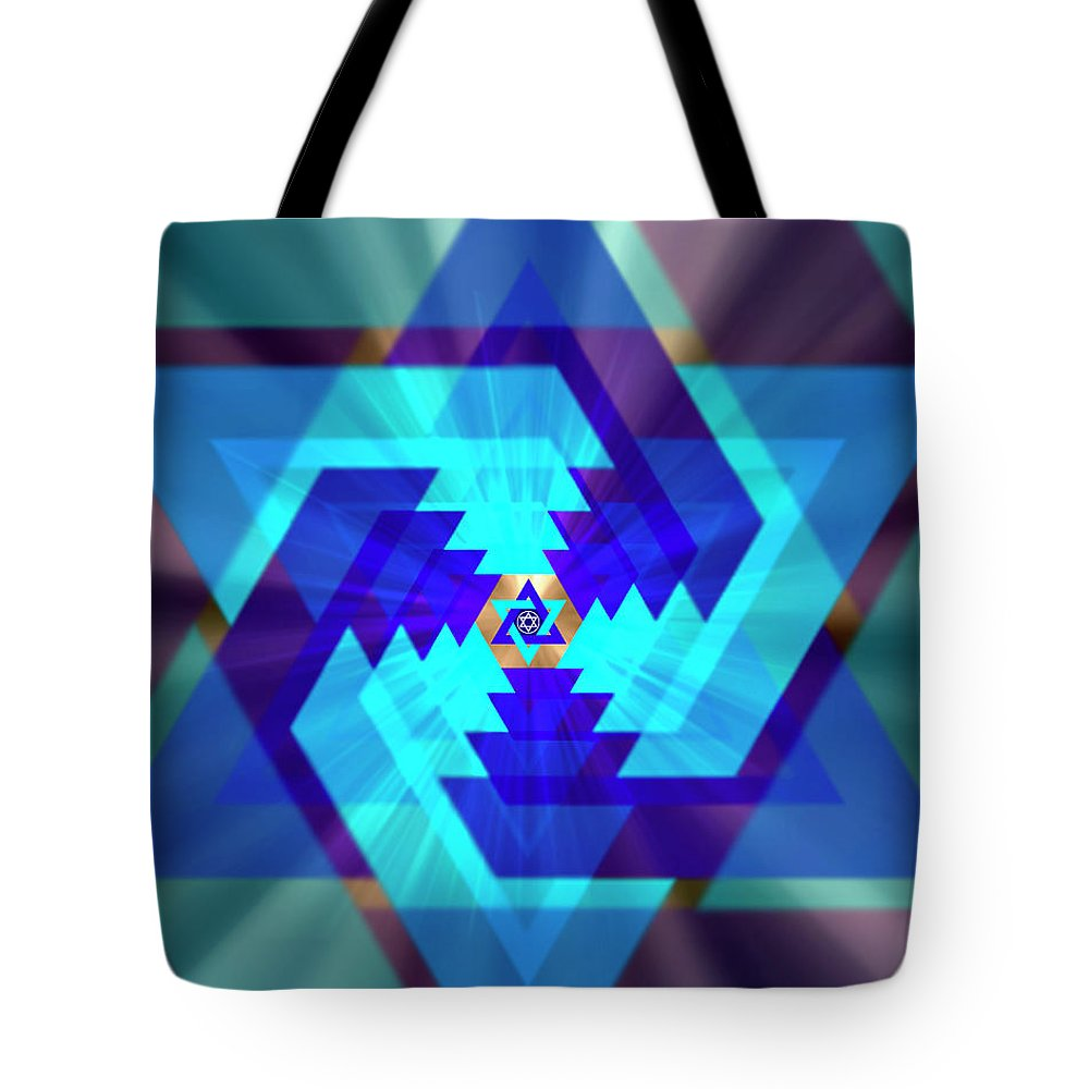 Endre Tote Bag featuring the photograph Star Of David 1 by Endre Balogh