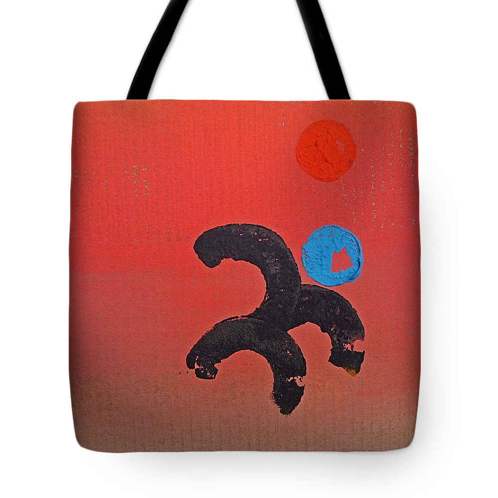 Figure Tote Bag featuring the painting Stay Cool by Charles Stuart