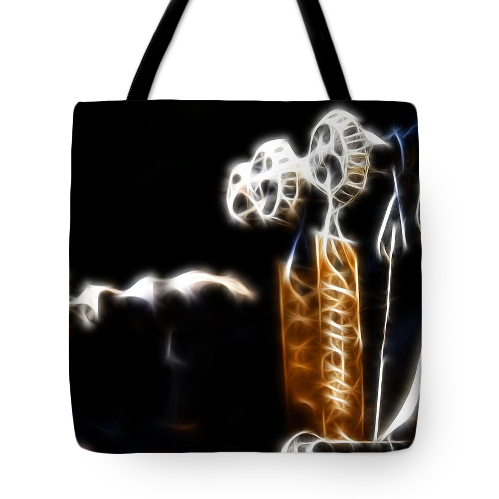 Controls Tote Bag featuring the digital art Steam Control by Adam Vance