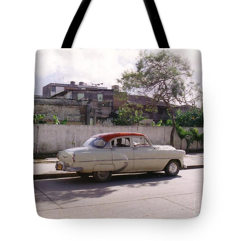 Car Tote Bag featuring the photograph Still Motoring by John Malone