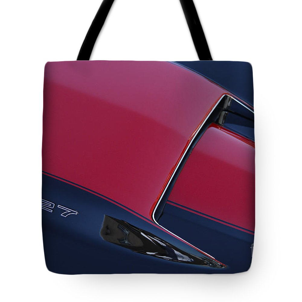 Corvette Tote Bag featuring the photograph Stinger by Dennis Hedberg