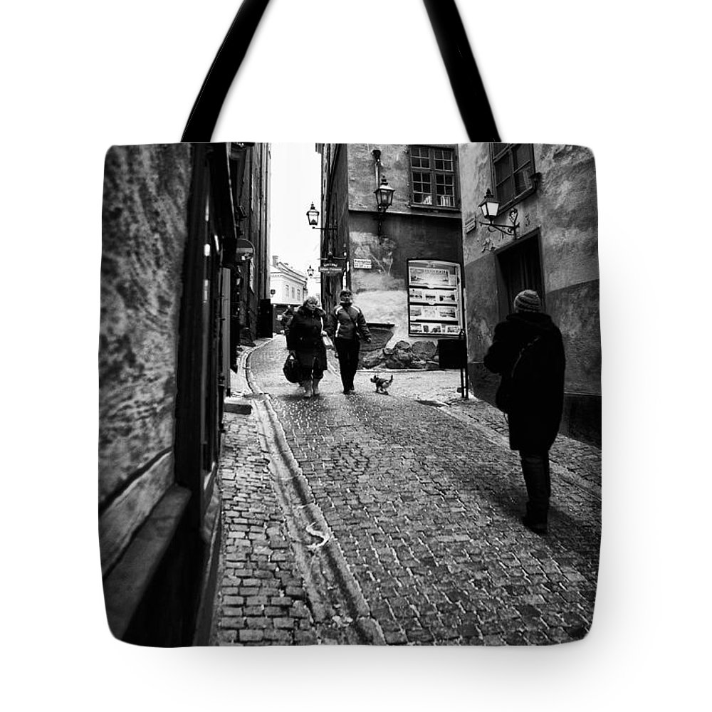 Architecture Tote Bag featuring the photograph Stockholm Old Town by Stelios Kleanthous