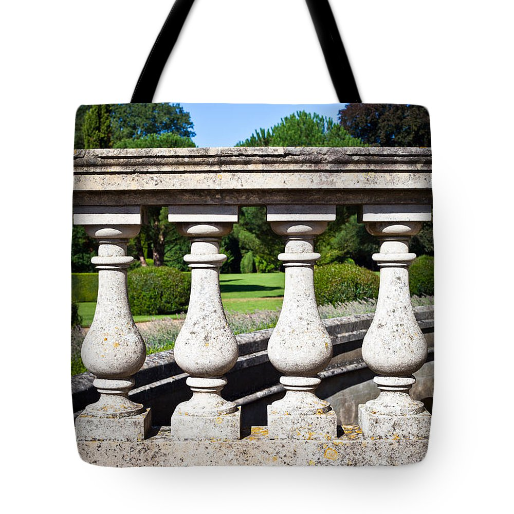 Age Tote Bag featuring the photograph Stone Wall by Tom Gowanlock