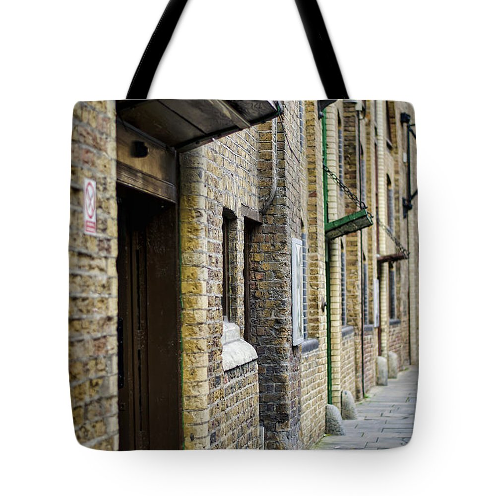 London Tote Bag featuring the photograph Stoney Street by Heather Applegate